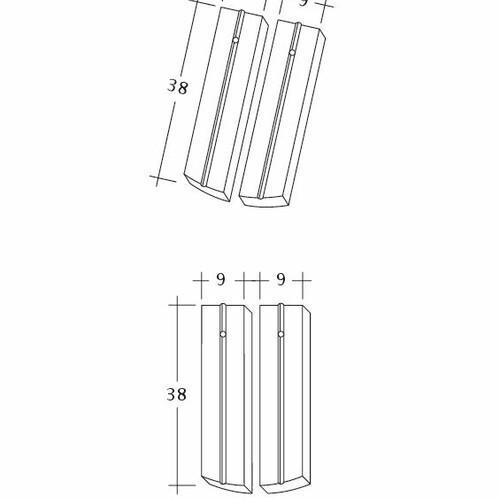 Termék műszakirajz PROFIL Kera-Saechs-18cm-1-2