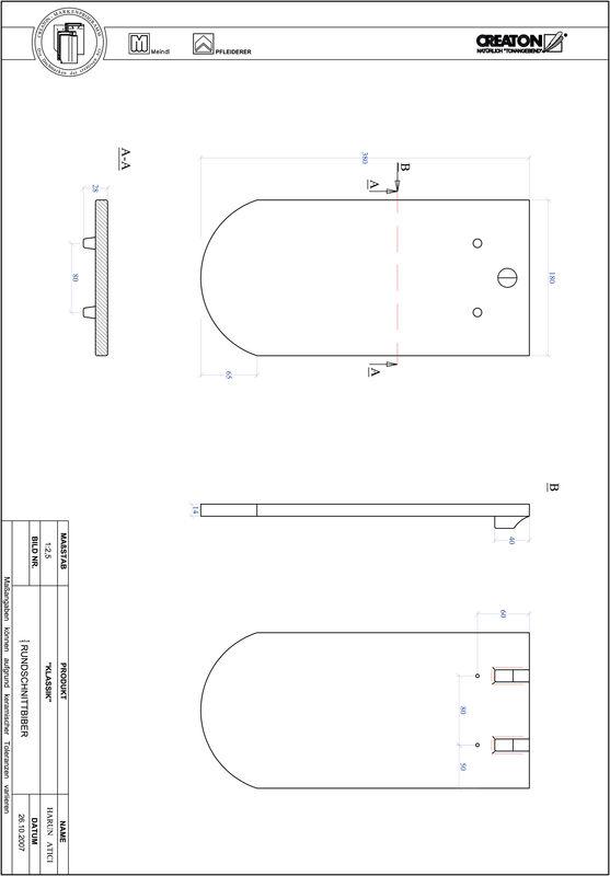 Termék CAD file KAPSTADT kerekvágású RUND-1-1