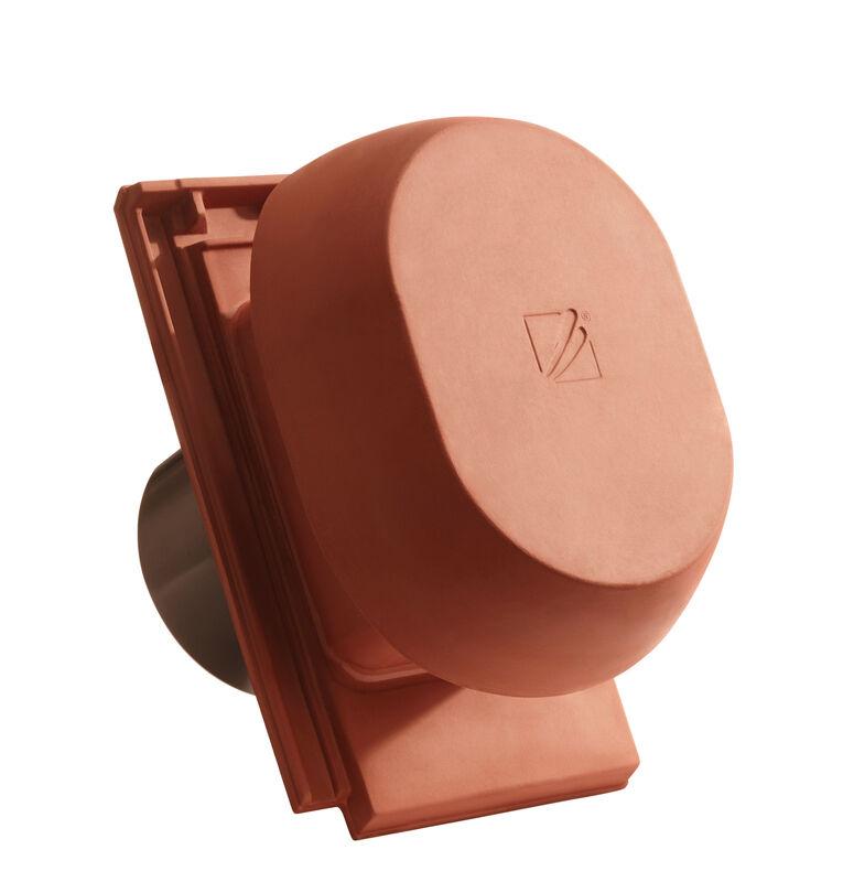 DOMINO SIGNUM kerámia csatornaszellőző szellőző DN  200 mm, fólia csatlakoztató gyűrűvel