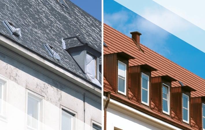 Felújítás - előtte és utána