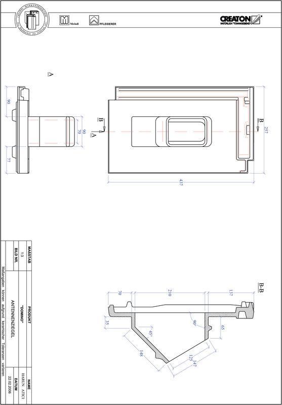 Termék CAD file DOMINO antenna ANTENNE