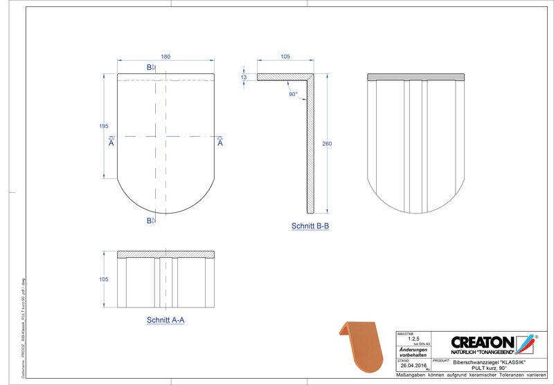 Termék CAD file KAPSTADT kerekvágású RUND-PULT-kurz