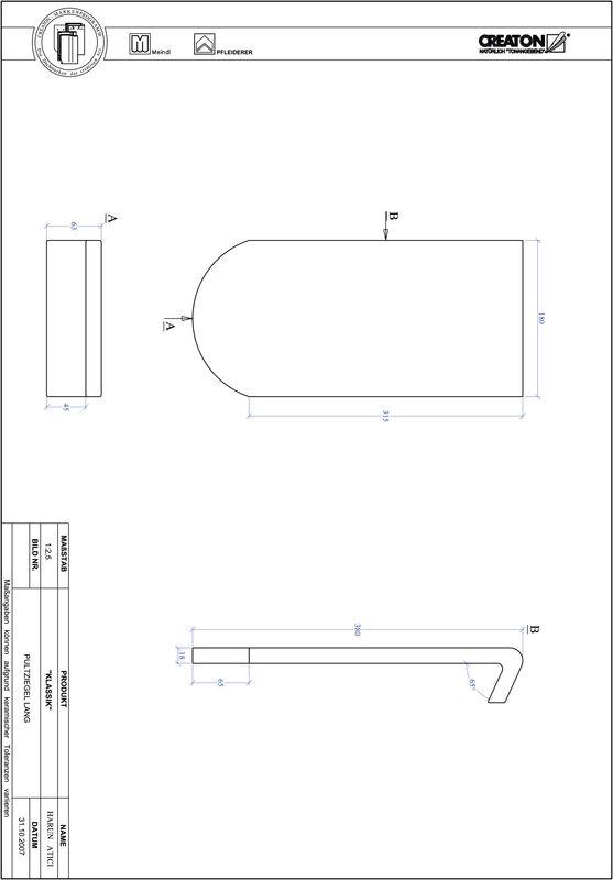 Termék CAD file KAPSTADT kerekvágású RUND-PULT-lang1