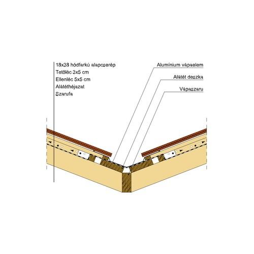 Termék műszaki rajz - Klassik vápa