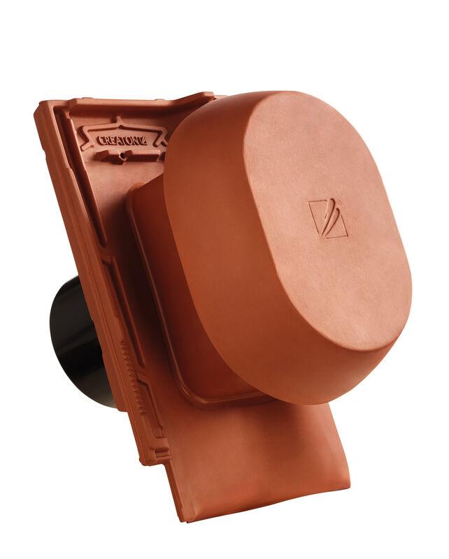 MZ3 SIGNUM kerámia csatornaszellőző szellőző DN 150/160 mm, fólia csatlakoztató gyűrűvel