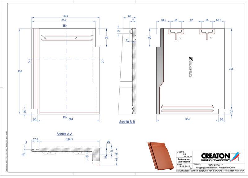 Termék CAD file KAPSTADT szegély jobb OGR-90