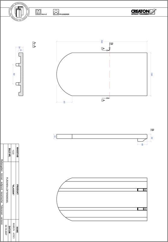Termék CAD file KAPSTADT kerekvágású RUND-FLUEFTZ