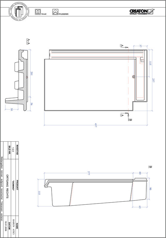 Termék CAD file DOMINO szegély jobb OGR