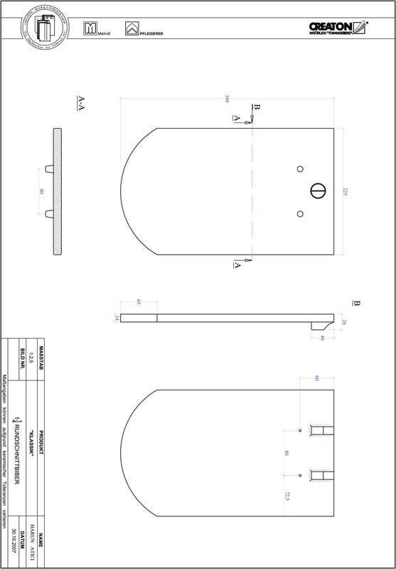 Termék CAD file KAPSTADT kerekvágású RUND-1-1-4
