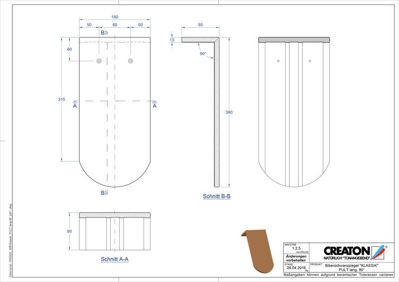 Termék CAD file KAPSTADT kerekvágású RUND-PULT-lang