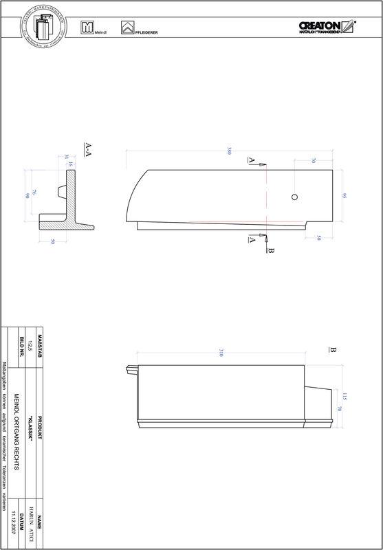 Termék CAD file KAPSTADT kerekvágású RUND-OGR