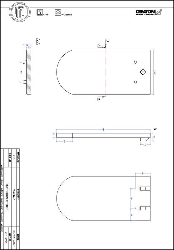 Termék CAD file ANTIK kerekvágású RUND-1-1