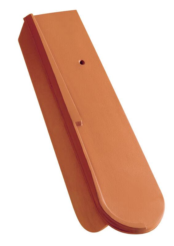 Eltolható szegélycserép alacsony oldallappal, kb. 5 cm, jobb