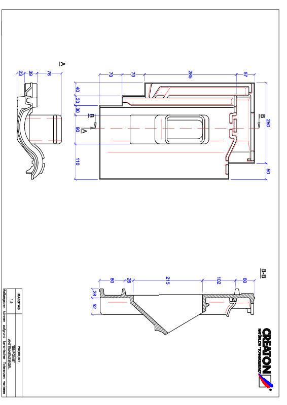 Termék CAD file SINFONIE antenna ANTENNE