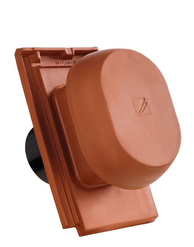 DOMINO SIGNUM kerámia csatornaszellőző szellőző DN 150/160 mm, fólia csatlakoztató gyűrűvel