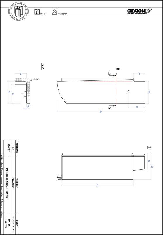 Termék CAD file KAPSTADT kerekvágású RUND-OGL