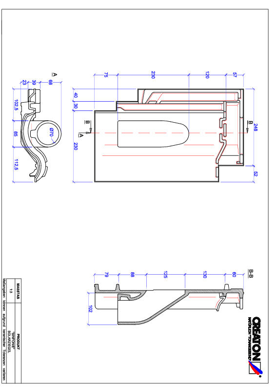 Termék CAD file SINFONIE Szolár SOLAR