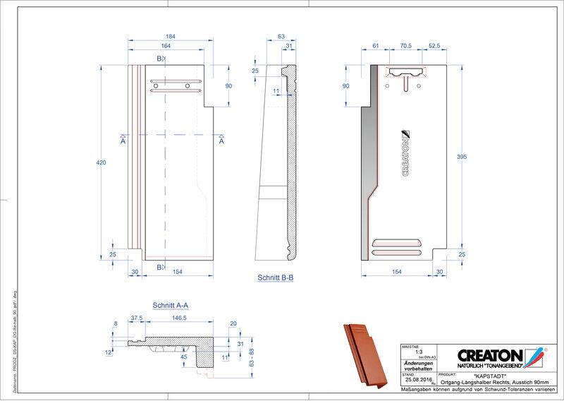 Termék CAD file KAPSTADT szegély jobb OGR-halb-90