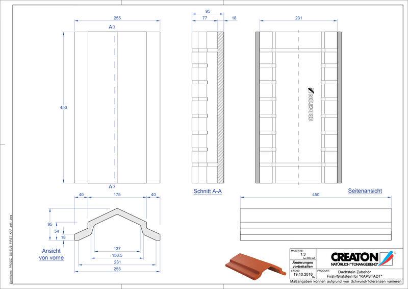 Termék CAD file KAPSTADT kiegészítők FIRST-Firststein