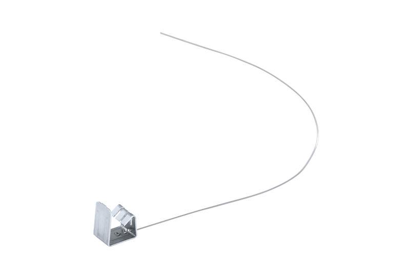 Nemesacél kapocs vágott cseréphez 13-17 mm