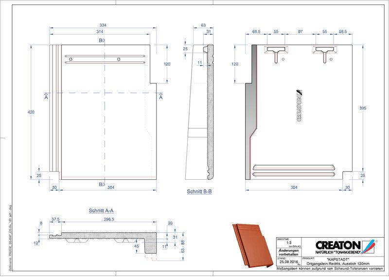 Termék CAD file KAPSTADT szegély jobb OGR-120