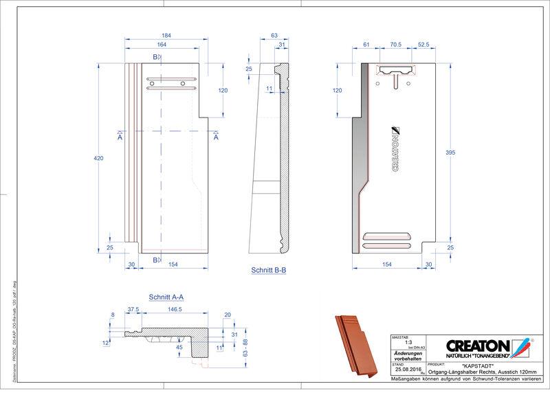 Termék CAD file KAPSTADT szegély jobb OGR-halb-120